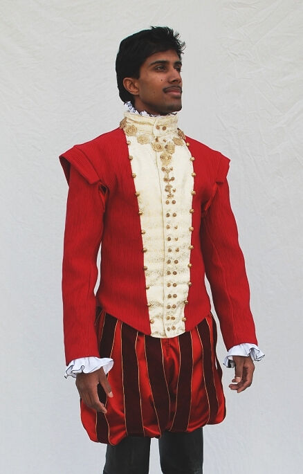 Red Montponssier Costume Replica
